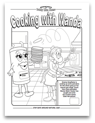 Cooking with Wanda