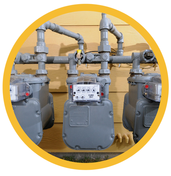 gas meter Centerpoint Energy